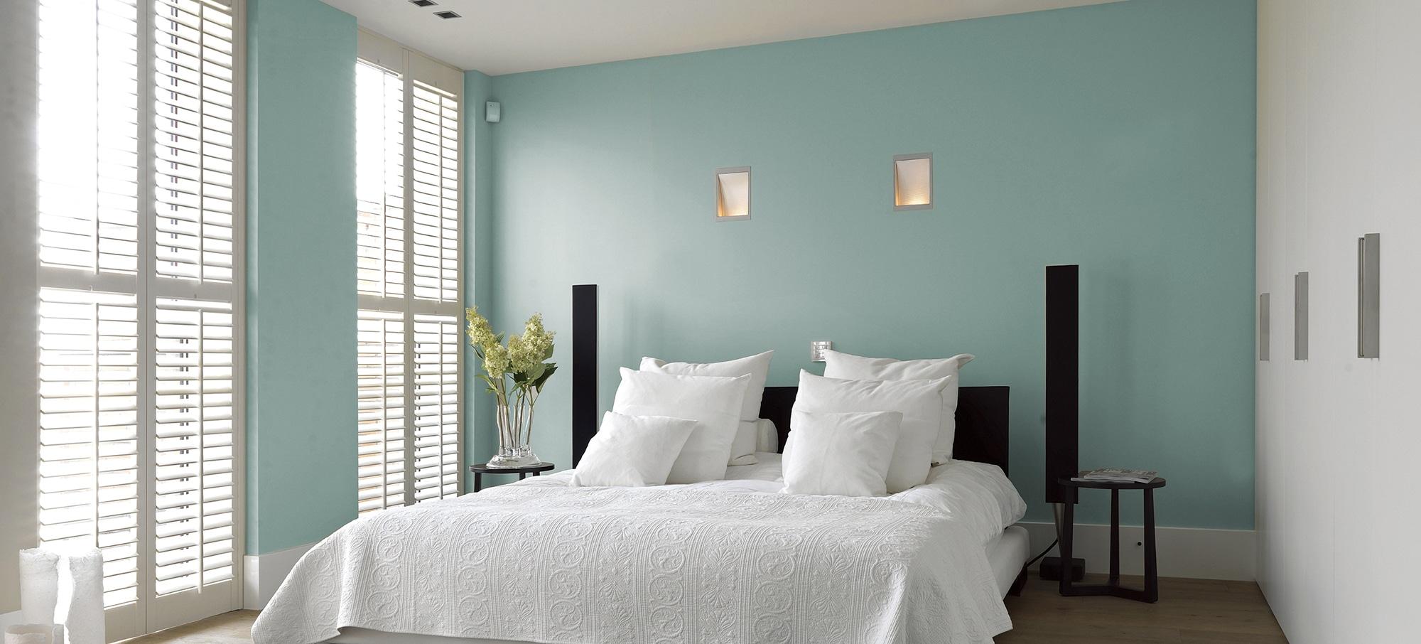 bedroom window shutters